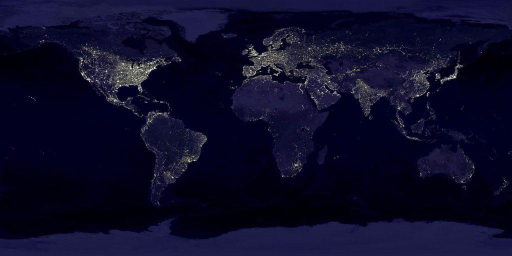 Lichtverschmutzung kann für manche Arten zum Problem werden.